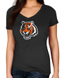 "Cincinnati Bengals Women's Majestic NFL ""Legendary Look"" Short Sleeve T-shirt"