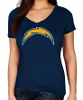 "Los Angeles Chargers Women's Majestic NFL ""Legendary Look"" Short Sleeve T-shirt"