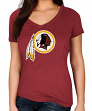 "Washington Redskins Women's Majestic NFL ""Legendary Look"" Short Sleeve T-shirt"