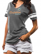 "Miami Dolphins Women's Majestic NFL ""Game Tradition 2"" Tri-Blend T-shirt"