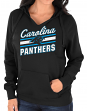 "Carolina Panthers Women's Majestic NFL ""Highlight Play"" Hooded Sweatshirt"