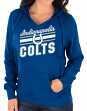 "Indianapolis Colts Women's Majestic NFL ""Highlight Play"" Hooded Sweatshirt"
