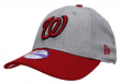 "Washington Nationals New Era 9Forty MLB Youth ""League Heather"" Adjustable Hat"