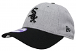 """Chicago White Sox New Era 9Forty MLB Youth """"League Heather"""" Adjustable Hat"""