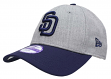 "San Diego Padres New Era 9Forty MLB Youth ""League Heather"" Adjustable Hat"