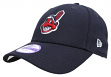 """Cleveland Indians New Era Youth MLB 9Forty """"The League"""" Adjustable Hat -Navy"""