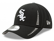 "Chicago White Sox New Era 9Forty MLB ""Speed"" Performance Adjustable Hat - Black"