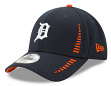 "Detroit Tigers New Era 9Forty MLB ""Speed"" Performance Adjustable Hat - Navy"