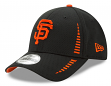 "San Francisco Giants New Era 9Forty MLB ""Speed"" Performance Black Adjustable Hat"