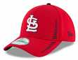 "St. Louis Cardinals New Era 9Forty MLB ""Speed"" Performance Adjustable Hat - Red"