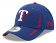 "Texas Rangers New Era 9Forty MLB ""Speed"" Performance Adjustable Hat - Blue"