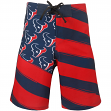 "Houston Texans NFL ""Diagonal Flag"" Men's Boardshorts Swim Trunks"