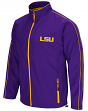 "LSU Tigers NCAA ""Barrier"" Men's Full Zip Wind Jacket"