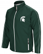 "Michigan State Spartans NCAA ""Barrier"" Men's Full Zip Wind Jacket"
