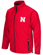 "Nebraska Cornhuskers NCAA ""Barrier"" Men's Full Zip Wind Jacket"