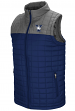 "Yale Bulldogs NCAA ""Amplitude"" Men's Full Zip Quilted Puff Vest"