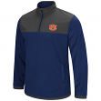 "Auburn Tigers NCAA ""Blocker"" Men's 1/4 Zip Corduroy Fleece Jacket"