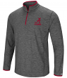 "Alabama Crimson Tide NCAA ""Diemert"" 1/4 Zip Pullover Men's Charcoal Wind Shirt"