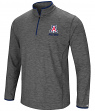 "Arizona Wildcats NCAA ""Diemert"" 1/4 Zip Pullover Men's Charcoal Wind Shirt"