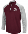 "Texas A&M Aggies NCAA ""Superset"" Men's 1/4 Zip Pullover Fleece Sweatshirt"