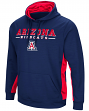 "Arizona Wildcats NCAA ""Big Upset"" Men's Pullover Hooded Sweatshirt"
