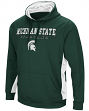 "Michigan State Spartans NCAA ""Big Upset"" Men's Pullover Hooded Sweatshirt"