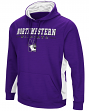 "Northwestern Wildcats NCAA ""Big Upset"" Men's Pullover Hooded Sweatshirt"