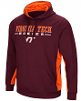 "Virginia Tech Hokies NCAA ""Big Upset"" Men's Pullover Hooded Sweatshirt"