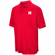 "Nebraska Cornhuskers NCAA ""Setter"" Men's Performance Polo Shirt"