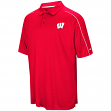 "Wisconsin Badgers NCAA ""Setter"" Men's Performance Polo Shirt"