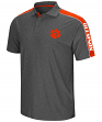 "Clemson Tigers NCAA ""Southpaw"" Men's Performance Polo Shirt - Charcoal"
