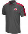 "Utah Utes NCAA ""Southpaw"" Men's Performance Polo Shirt - Charcoal"