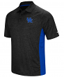 "Kentucky Wildcats NCAA ""Wedge"" Men's Performance Polo Shirt - Black"