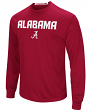 "Alabama Crimson Tide NCAA ""Power Set"" Men's Long Sleeve Performance T-Shirt"