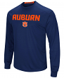 "Auburn Tigers NCAA ""Power Set"" Men's Long Sleeve Performance T-Shirt"