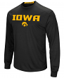 "Iowa Hawkeyes NCAA ""Power Set"" Men's Long Sleeve Performance T-Shirt"
