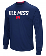 Mississippi Ole Miss Rebels NCAA Power Set Men's Long Sleeve Performance T-Shirt