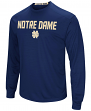 "Notre Dame Fighting Irish NCAA ""Power Set"" Men's Long Sleeve Performance T-Shirt"