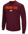 "Virginia Tech Hokies NCAA ""Power Set"" Men's Long Sleeve Performance T-Shirt"