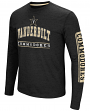 "Vanderbilt Commodores NCAA ""Sky Box"" Long Sleeve Dual Blend Men's T-Shirt"