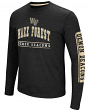 "Wake Forest Demon Deacons NCAA ""Sky Box"" Long Sleeve Dual Blend Men's T-Shirt"