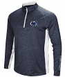"Penn State Nittany Lions NCAA ""Upstart"" 1/4 Zip Pullover Men's Navy Wind Shirt"