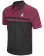 "Florida State Seminoles NCAA ""Bails"" Men's Performance Polo Shirt - Black"
