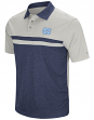 "North Carolina Tarheels NCAA ""Bails"" Men's Performance Polo Shirt - Blue"