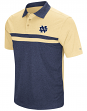 "Notre Dame Fighting Irish NCAA ""Bails"" Men's Performance Polo Shirt - Navy"