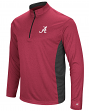 "Alabama Crimson Tide NCAA ""Audible"" 1/4 Zip Pullover Men's L/S Wind Shirt"