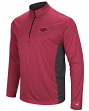 "Arkansas Razorbacks NCAA ""Audible"" 1/4 Zip Pullover Men's L/S Wind Shirt"