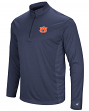 "Auburn Tigers NCAA ""Audible"" 1/4 Zip Pullover Men's L/S Wind Shirt"