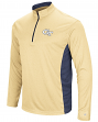 "Georgia Tech Yellowjackets NCAA ""Audible"" 1/4 Zip Pullover Men's L/S Wind Shirt"