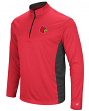 "Louisville Cardinals NCAA ""Audible"" 1/4 Zip Pullover Men's L/S Wind Shirt"